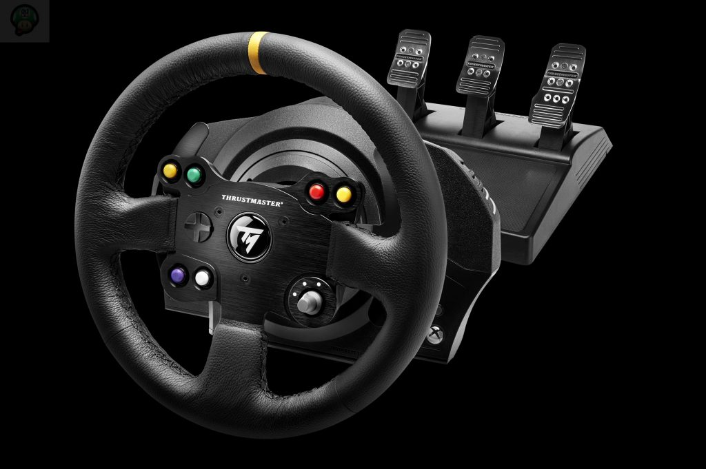 thrustmaster annonce le tx racing wheel leather edition. Black Bedroom Furniture Sets. Home Design Ideas