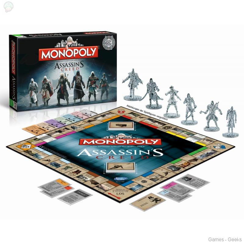 Monopoly-assassin-creed Sélection de monopoly pour les Geeks