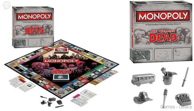 Monopoly-walking-dead Sélection de monopoly pour les Geeks