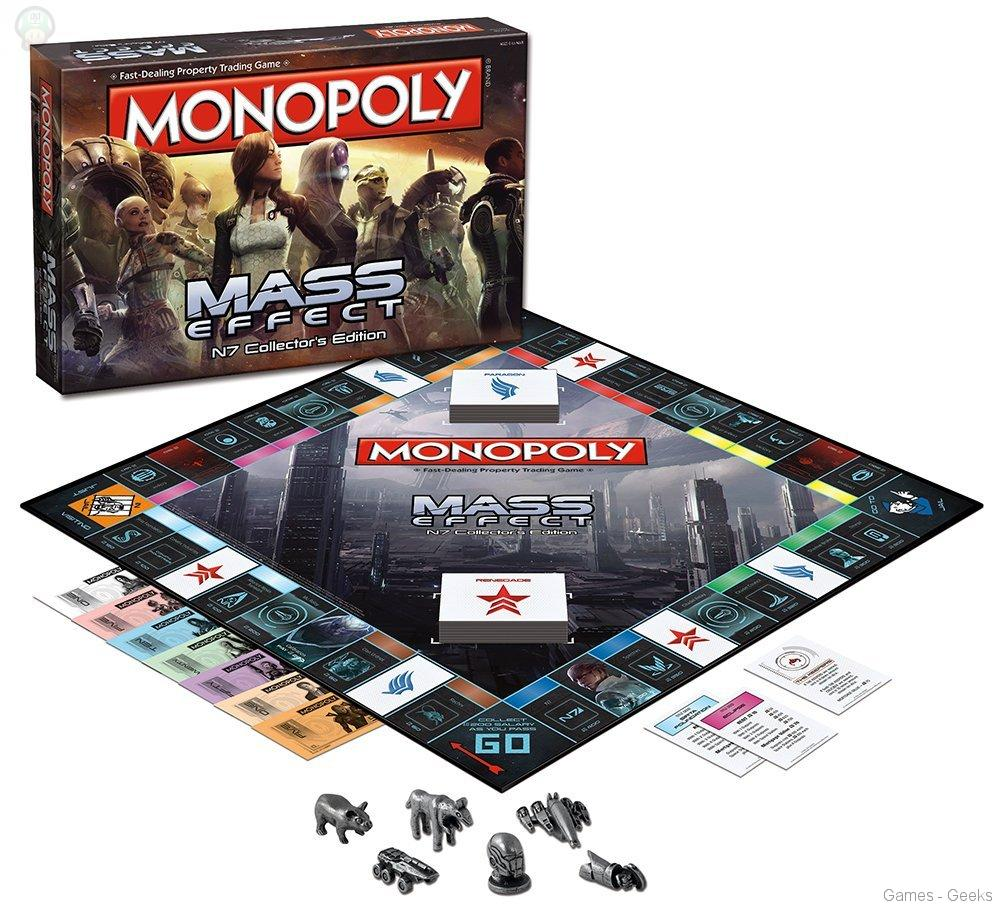 monopoly-mass-effect Sélection de monopoly pour les Geeks
