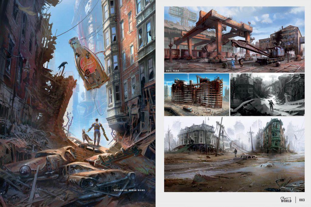 Fallout4_Multi_Div_012-1024x682 Artbook - The Art of Fallout 4 - Dark Horse