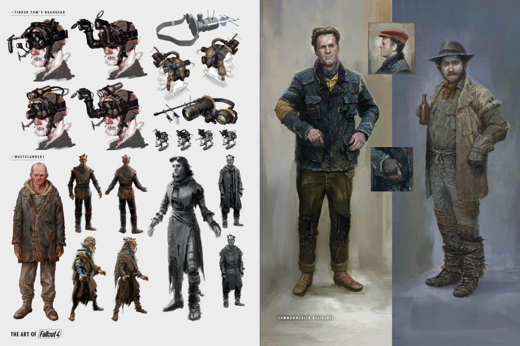 Fallout4_Multi_Div_015-1024x682 Artbook - The Art of Fallout 4 - Dark Horse