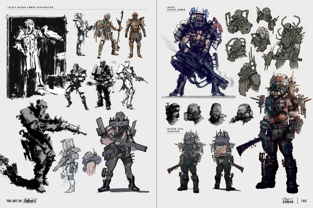 Fallout4_Multi_Div_017-1024x682 Artbook - The Art of Fallout 4 - Dark Horse