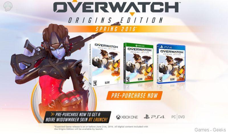 overwatch Overwatch sortira bien sur console