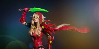 cosplay - hearthstone