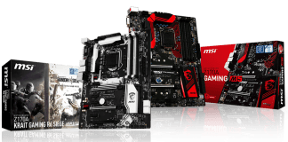 MSI propose une nouvelle offre gaming