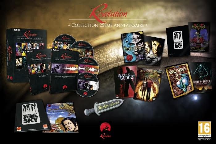 revolution Revolution: Collection 25ème Anniversaire le 11 mars sur PC