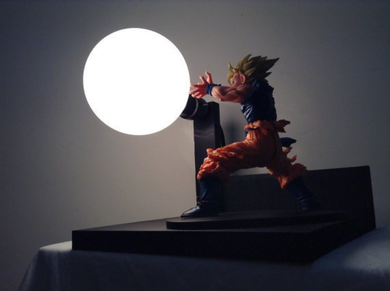 Geek Decouvrez Les Lampes Tirees De L Univers De Dragon Ball Z