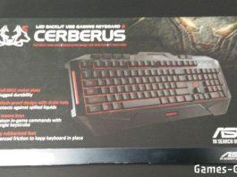 clavier asus cerberus