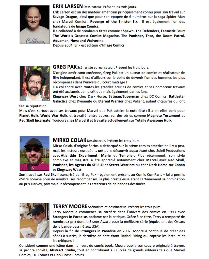 Capture-d'écran-2016-05-13-à-11.05.51 Comic Con Paris 2016 - La liste des invités de dévoile