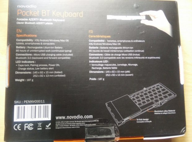 Novodia_BT_Keydb_packaging_5-620x459 Test - Novodio Pocket BT Keyboard