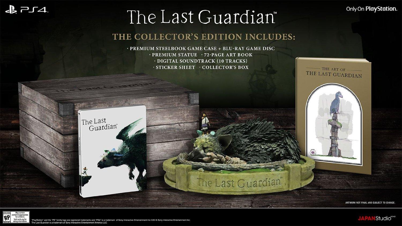 The-last-guardian-collector-edition The Last Guardian - Le collector - Préco ouverte