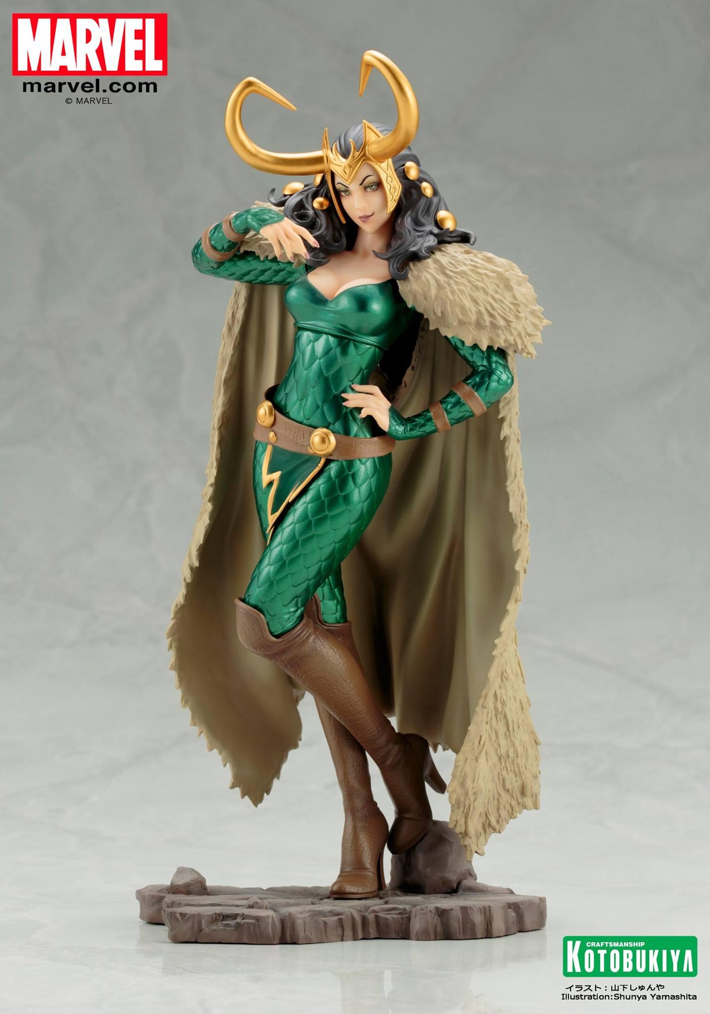 Koto-Bishoujo-Loki-Statue-001 Figurine - Thor - Lady Loki - Bishoujo Statue