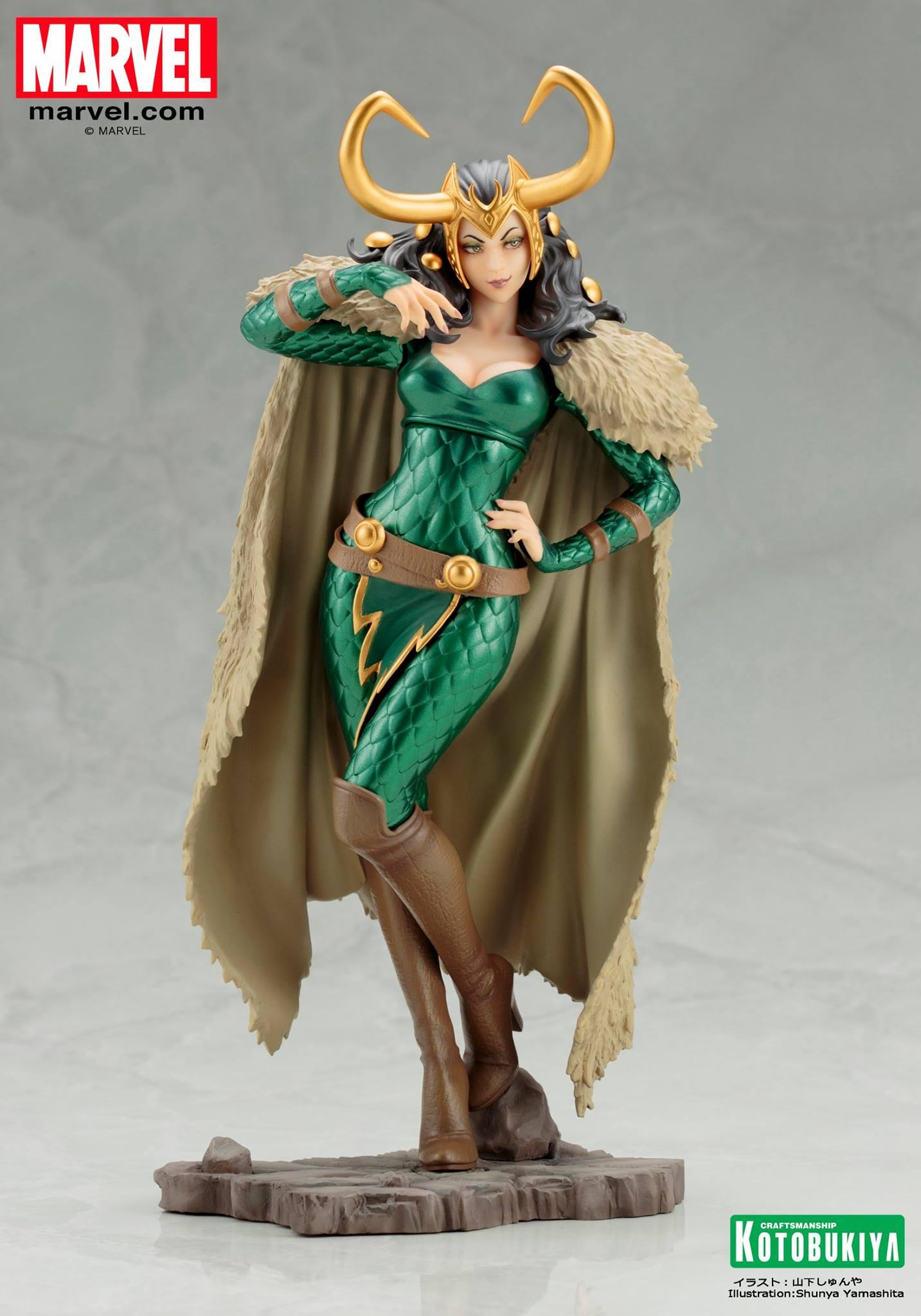 Koto-Bishoujo-Loki-Statue-002 Figurine - Thor - Lady Loki - Bishoujo Statue