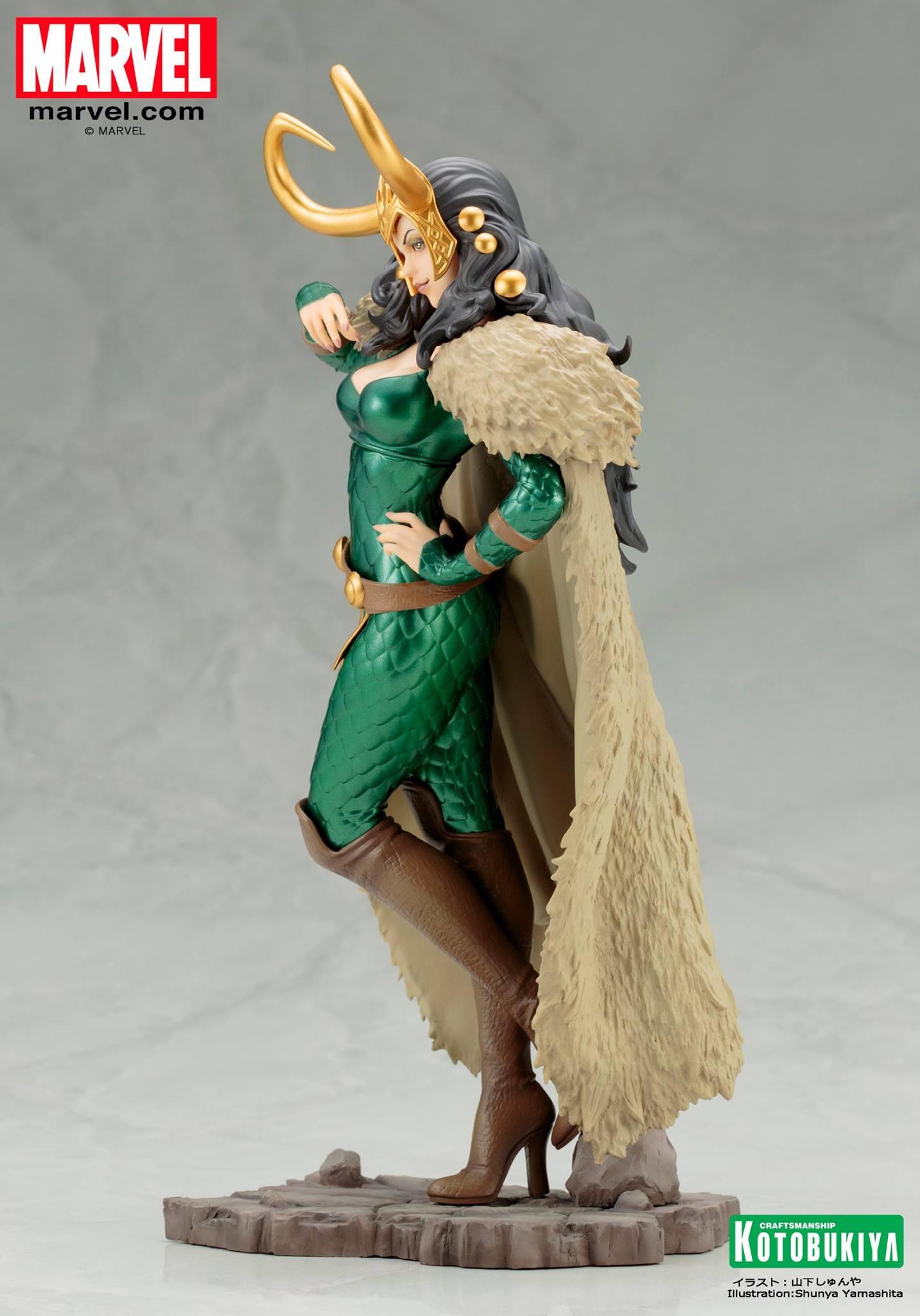 Koto-Bishoujo-Loki-Statue-004 Figurine - Thor - Lady Loki - Bishoujo Statue