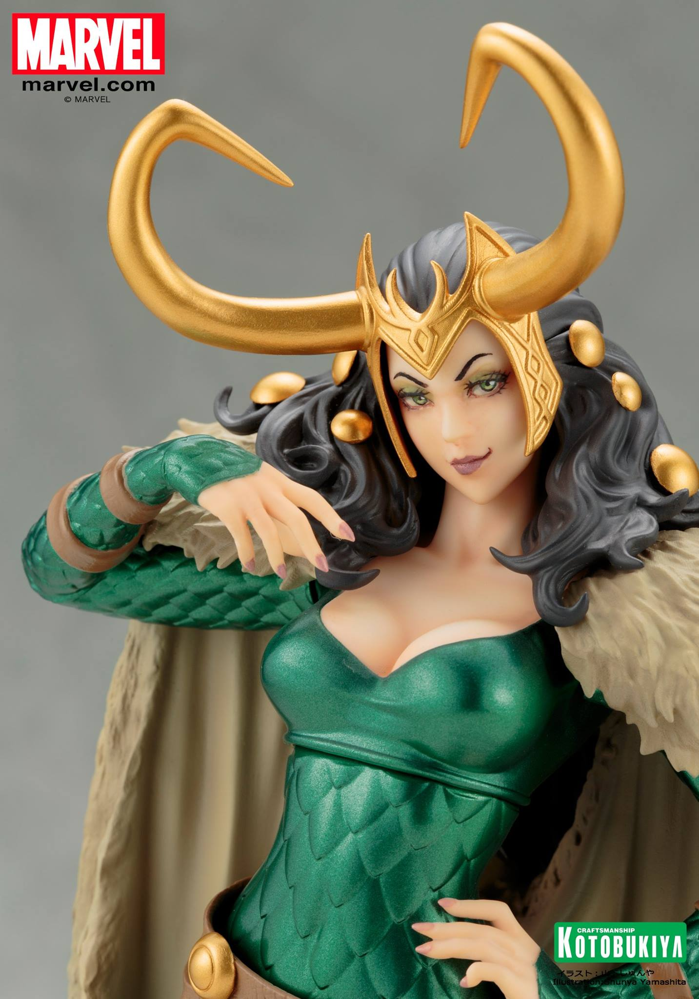 Koto-Bishoujo-Loki-Statue-005 Figurine - Thor - Lady Loki - Bishoujo Statue