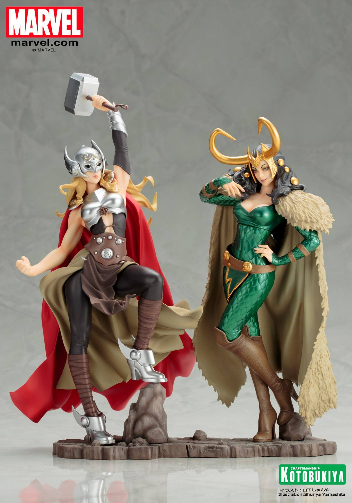 Koto-Bishoujo-Loki-Statue-006 Figurine - Thor - Lady Loki - Bishoujo Statue