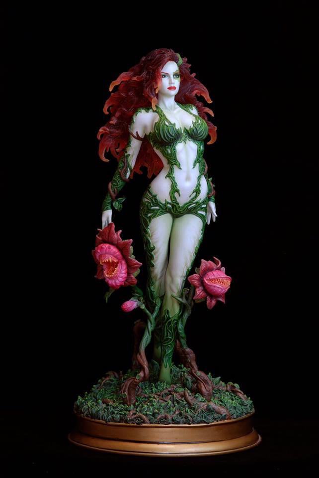 Poison-Ivy-Web-1 Figurine - DC Comics Fantasy Figure Gallery Poison ivy