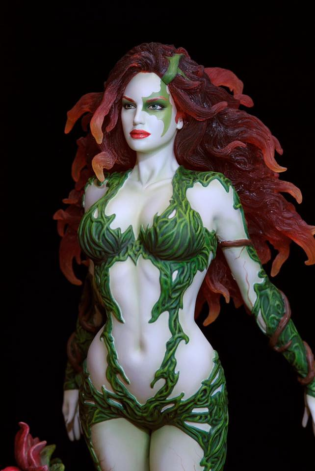 Poison-Ivy-Web-2 Figurine - DC Comics Fantasy Figure Gallery Poison ivy