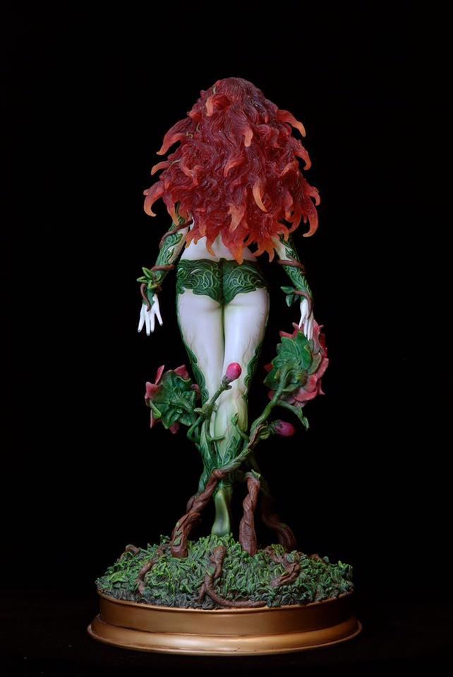 Poison-Ivy-Web-3 Figurine - DC Comics Fantasy Figure Gallery Poison ivy