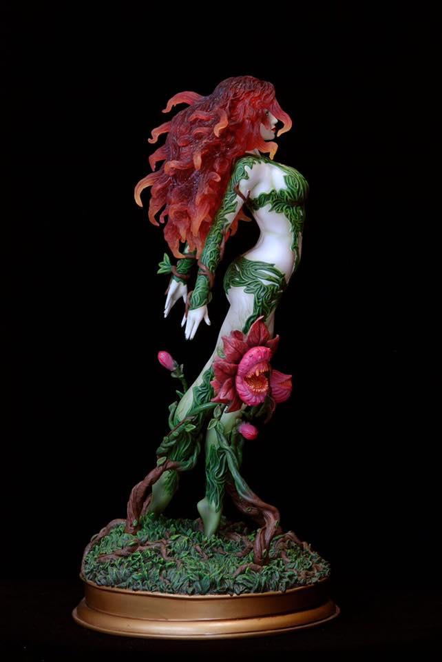 Poison-Ivy-Web-4 Figurine - DC Comics Fantasy Figure Gallery Poison ivy