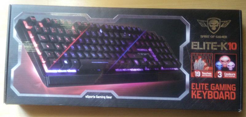 EliteK10_packaging Test - Clavier Gamer Elite-K10