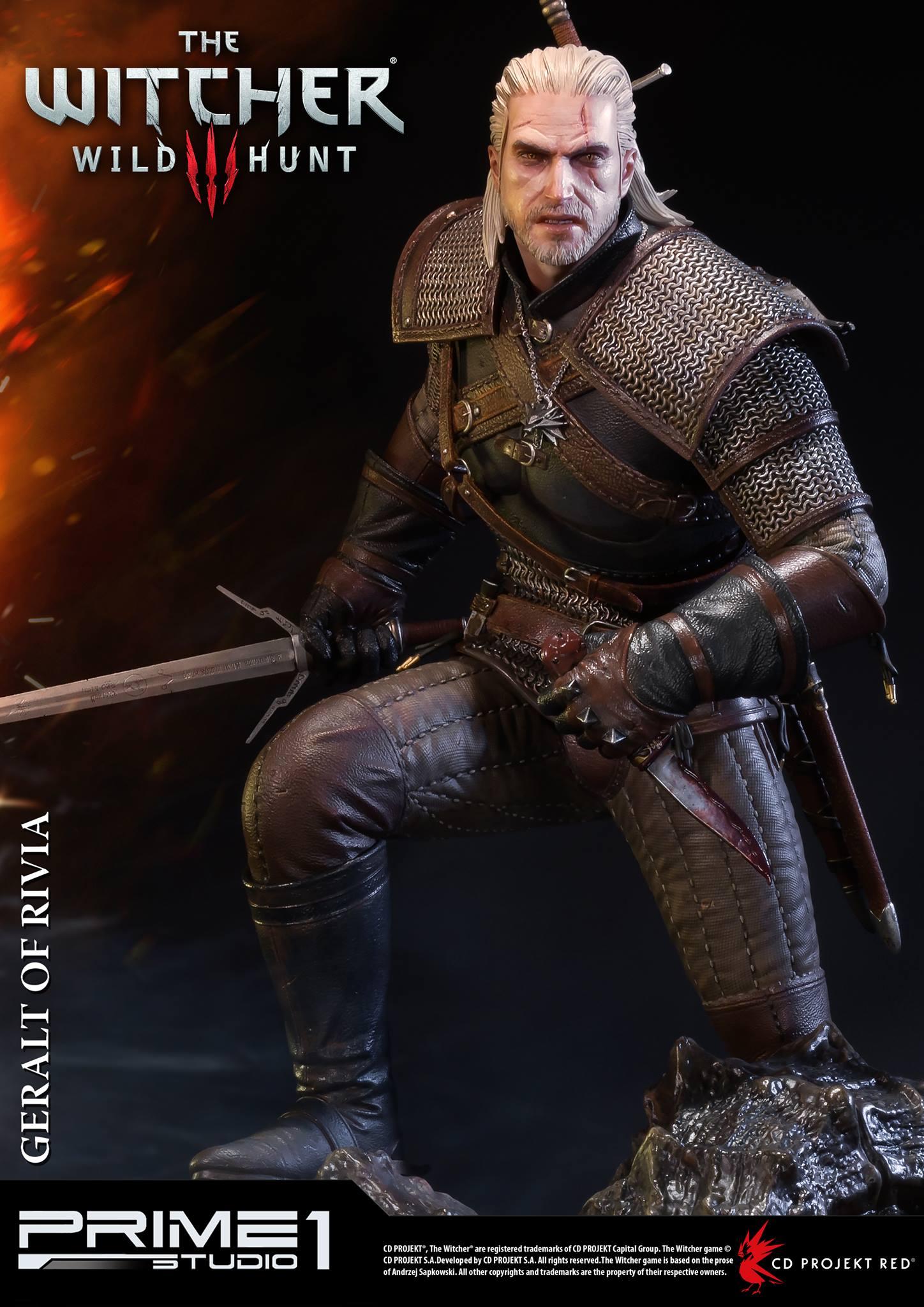 Witcher-3-Geralt-de-Riv-Statue-003 Prime 1 - Une magnifique figurine pour Geralt de The Witcher 3