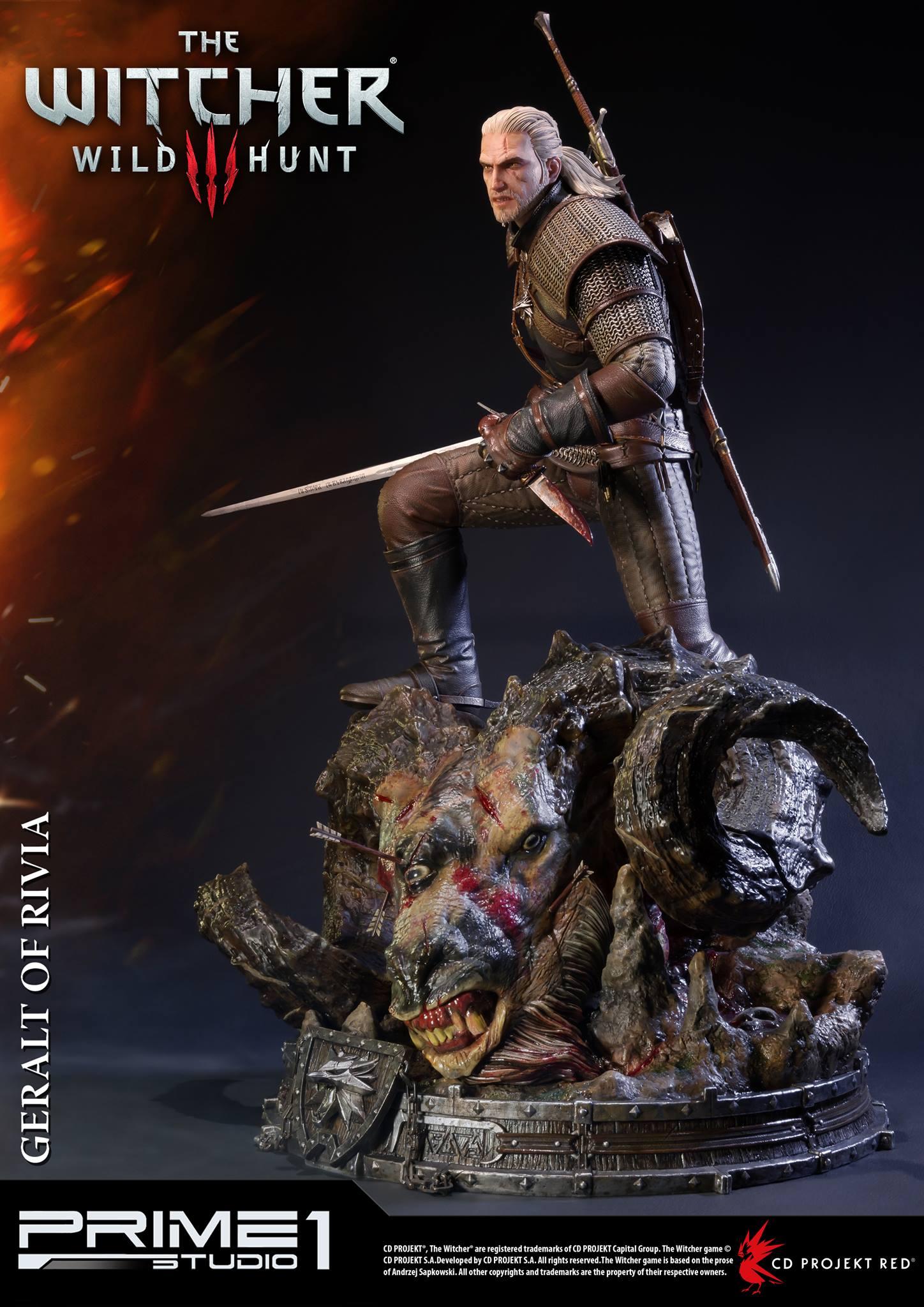 Witcher-3-Geralt-de-Riv-Statue-007 Prime 1 - Une magnifique figurine pour Geralt de The Witcher 3