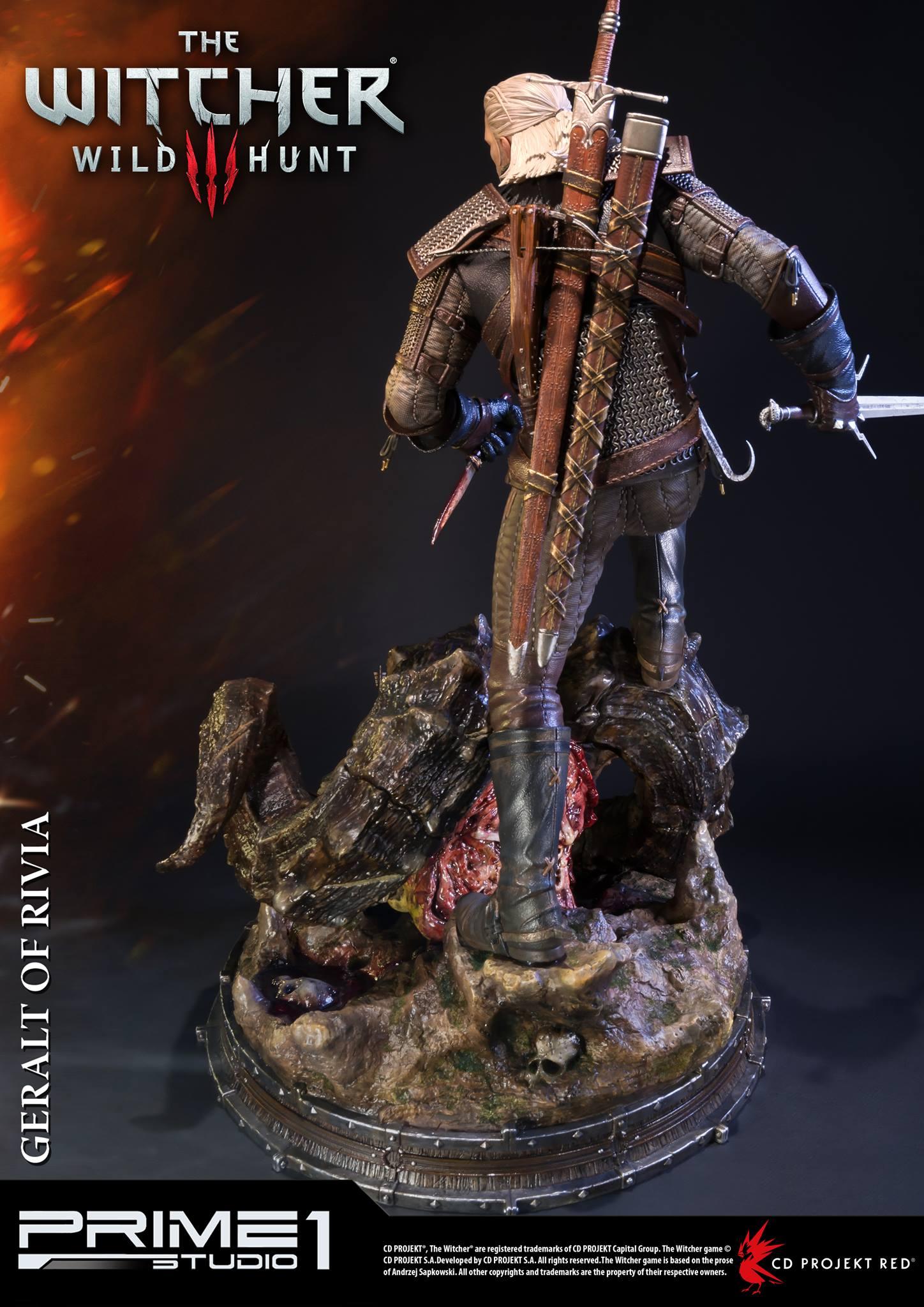 Witcher-3-Geralt-de-Riv-Statue-008 Prime 1 - Une magnifique figurine pour Geralt de The Witcher 3