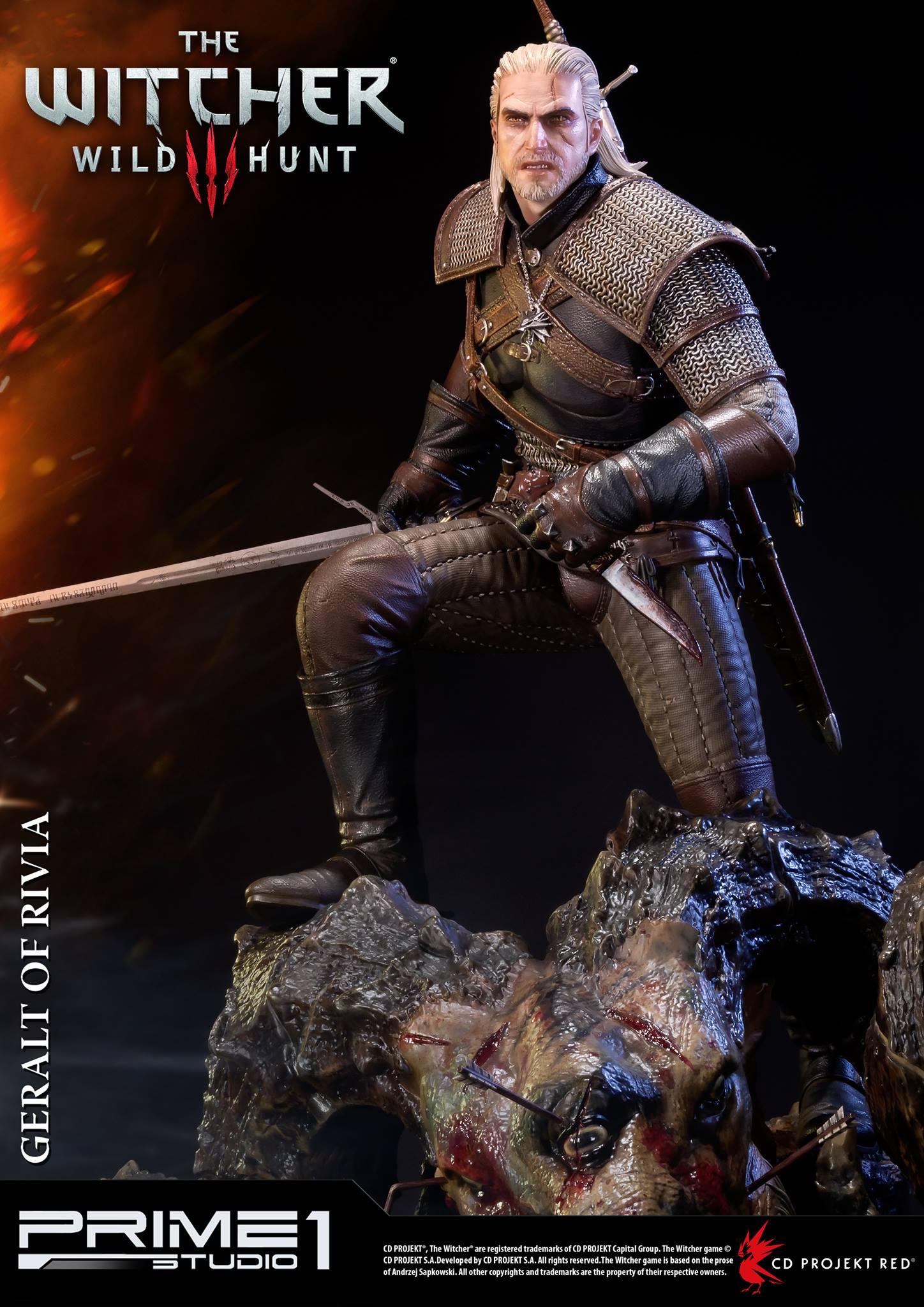 Witcher-3-Geralt-de-Riv-Statue-012 Prime 1 - Une magnifique figurine pour Geralt de The Witcher 3