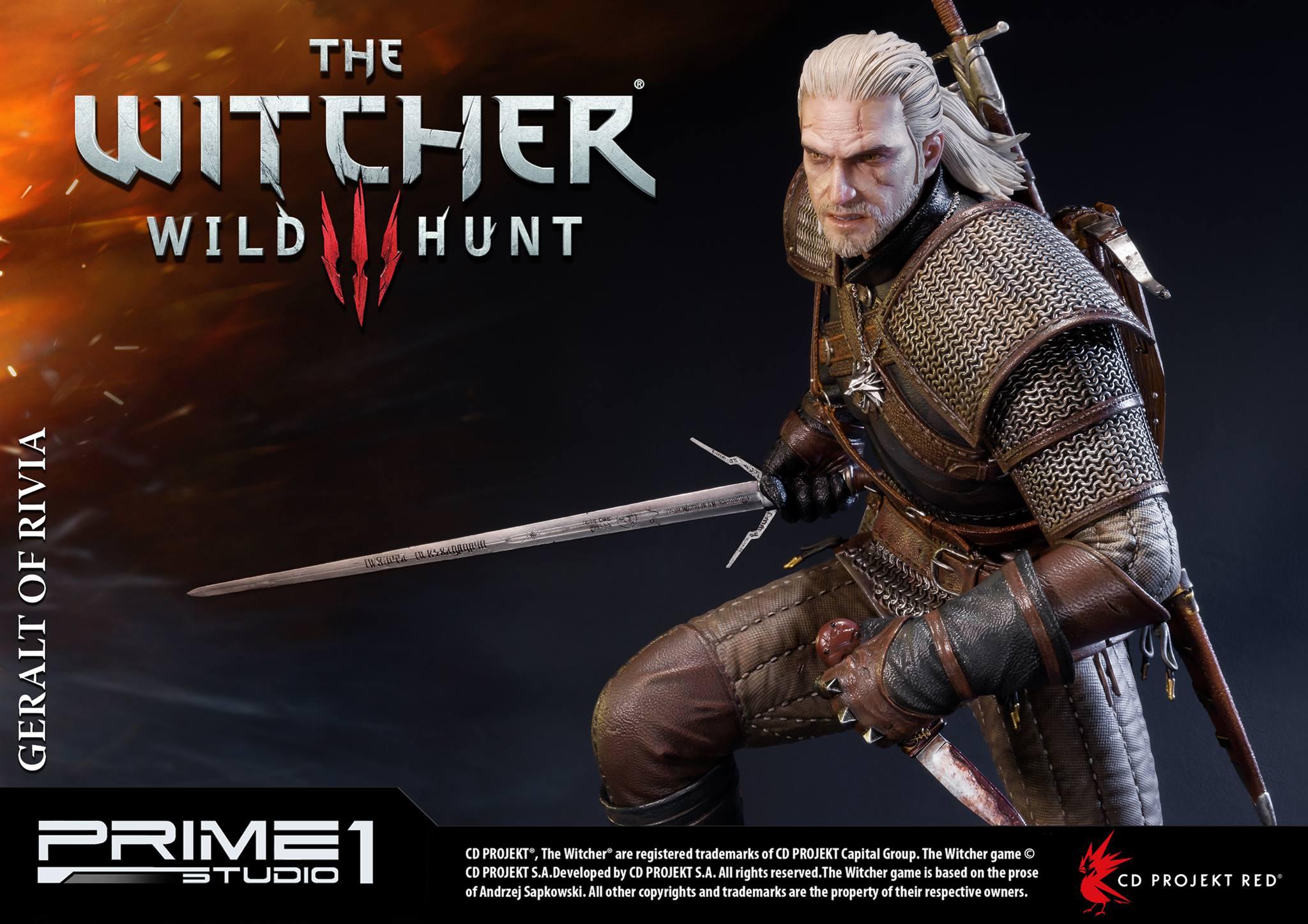 Witcher-3-Geralt-de-Riv-Statue-014 Prime 1 - Une magnifique figurine pour Geralt de The Witcher 3