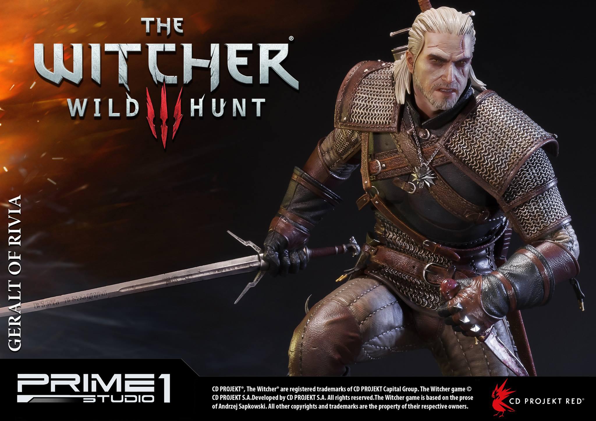 Witcher-3-Geralt-de-Riv-Statue-015 Prime 1 - Une magnifique figurine pour Geralt de The Witcher 3