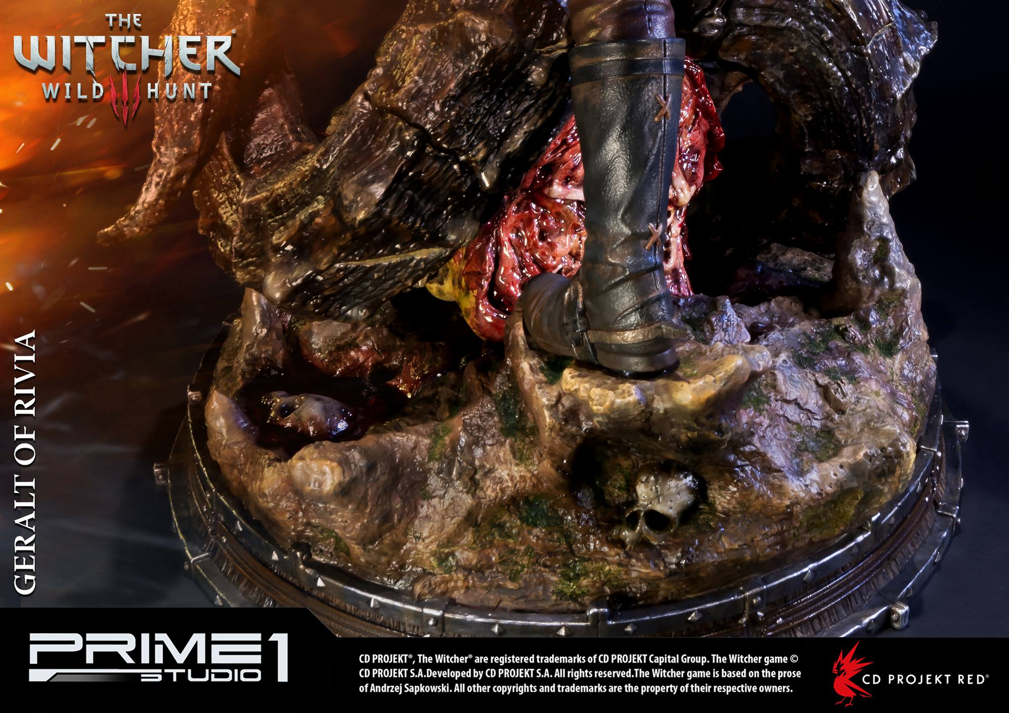 Witcher-3-Geralt-de-Riv-Statue-017 Prime 1 - Une magnifique figurine pour Geralt de The Witcher 3