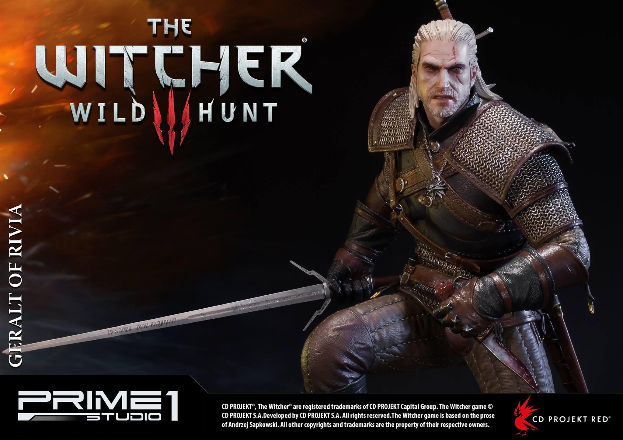 Witcher-3-Geralt-de-Riv-Statue-021 Prime 1 - Une magnifique figurine pour Geralt de The Witcher 3