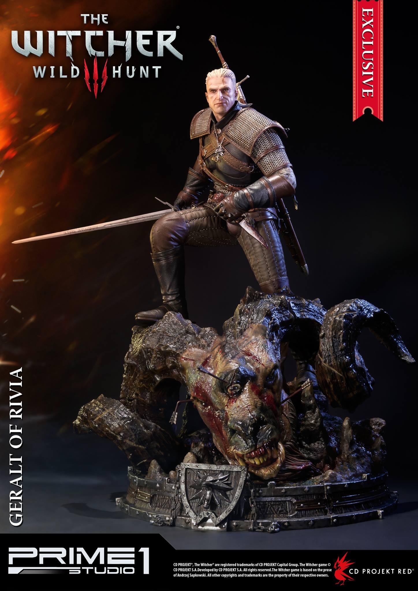 Witcher-3-Geralt-de-Riv-Statue-024 Prime 1 - Une magnifique figurine pour Geralt de The Witcher 3