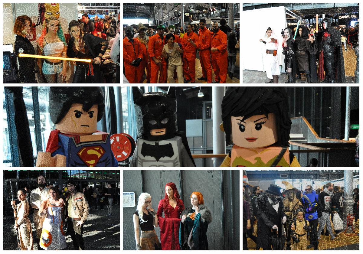 cosplay-comiccon ComicCon Paris - Compte rendu de la seconde édition