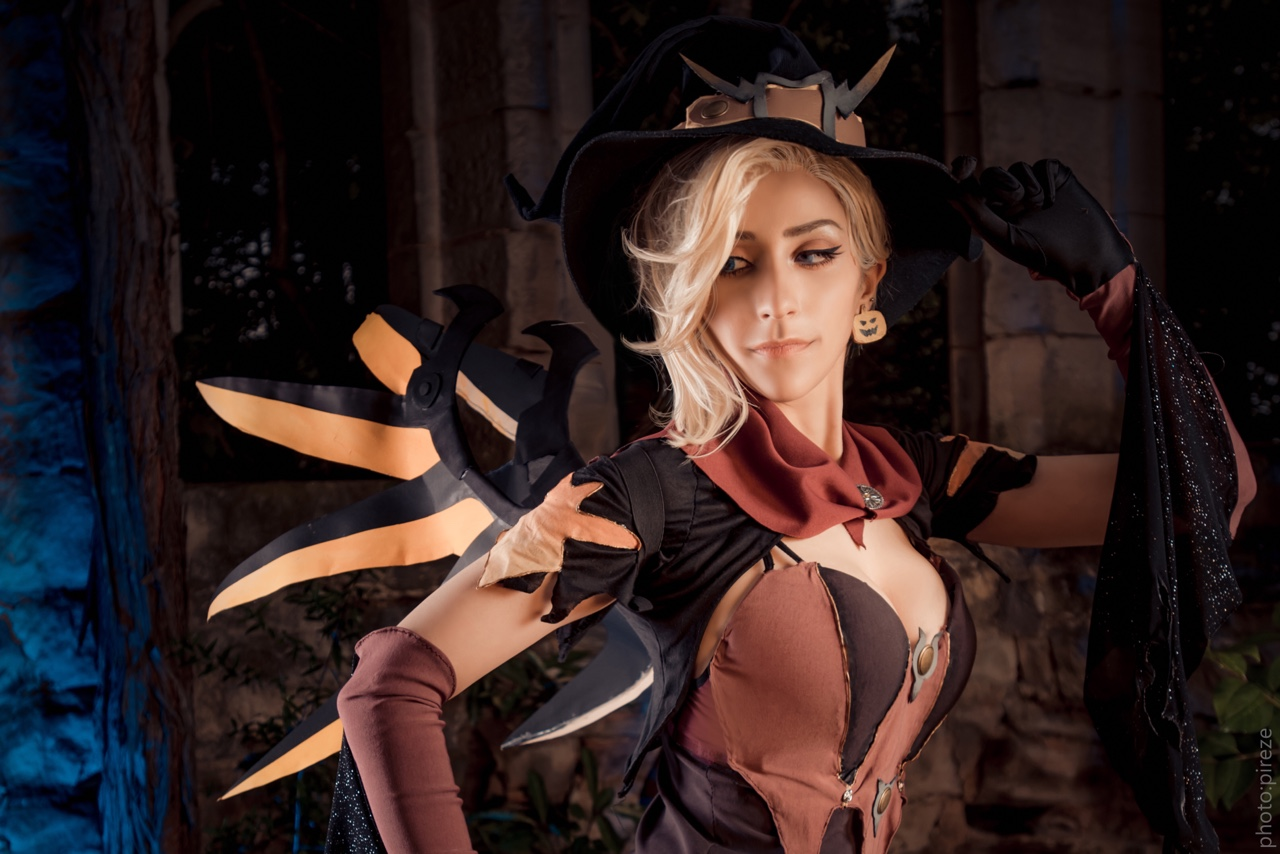 Cosplay - OverWatch - Ange Halloween #133   Games & Geeks