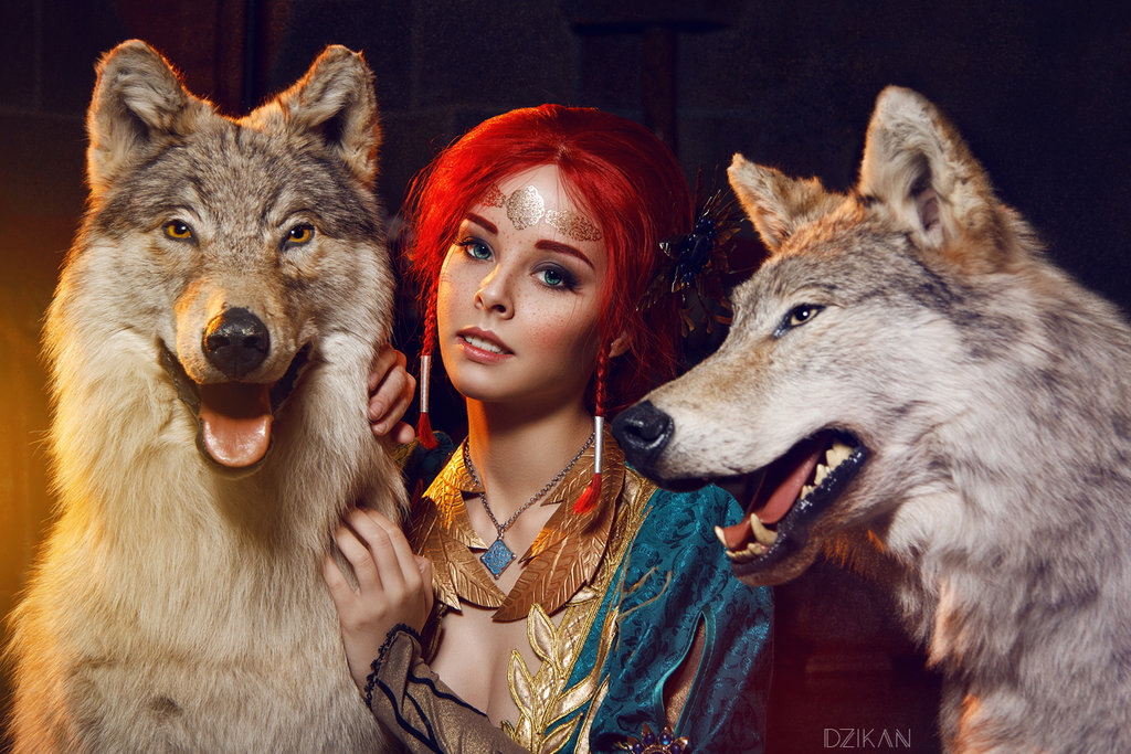 the_witcher_3___triss_merigold_cosplay_by_disharmonica-danx57r Cosplay - Triss Merigold - The Witcher 3 #134