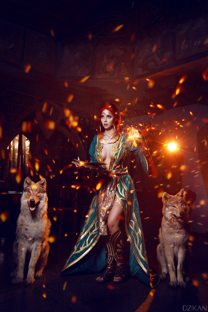 the_witcher_3___triss_merigold_cosplay_by_disharmonica-danx57w Cosplay - Triss Merigold - The Witcher 3 #134