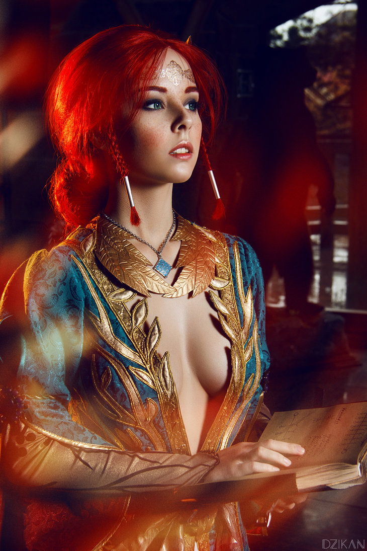 the_witcher_3___triss_merigold_cosplay_by_disharmonica-danx582 Cosplay - Triss Merigold - The Witcher 3 #134