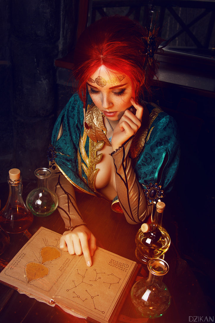 the_witcher_3___triss_merigold_cosplay_by_disharmonica-danx58t Cosplay - Triss Merigold - The Witcher 3 #134