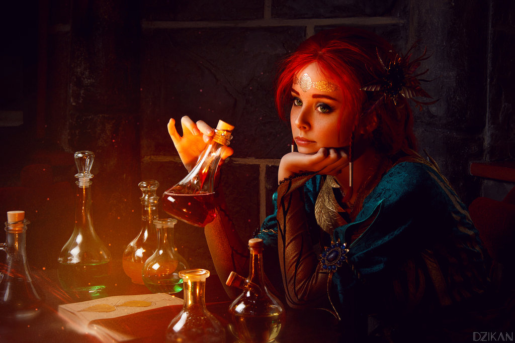 the_witcher_3___triss_merigold_cosplay_by_disharmonica-danx590 Cosplay - Triss Merigold - The Witcher 3 #134