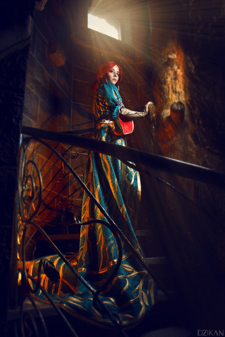 the_witcher_3___triss_merigold_cosplay_by_disharmonica-danx595 Cosplay - Triss Merigold - The Witcher 3 #134