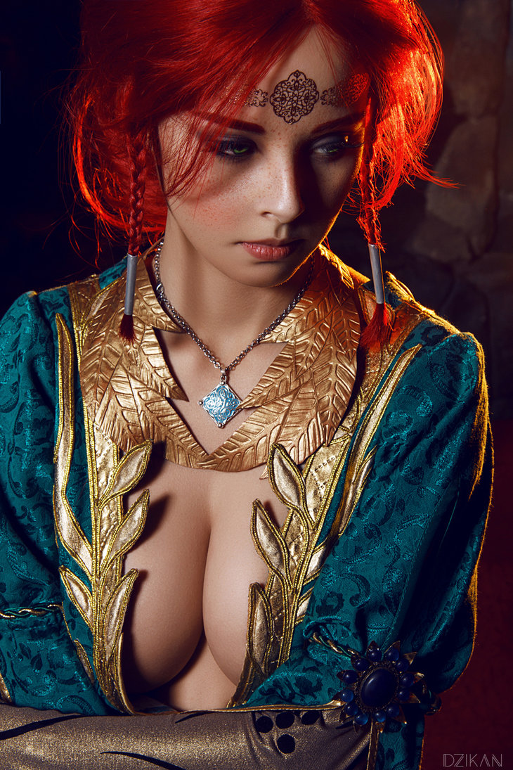 the_witcher_3___triss_merigold_cosplay_by_disharmonica-danx59f Cosplay - Triss Merigold - The Witcher 3 #134