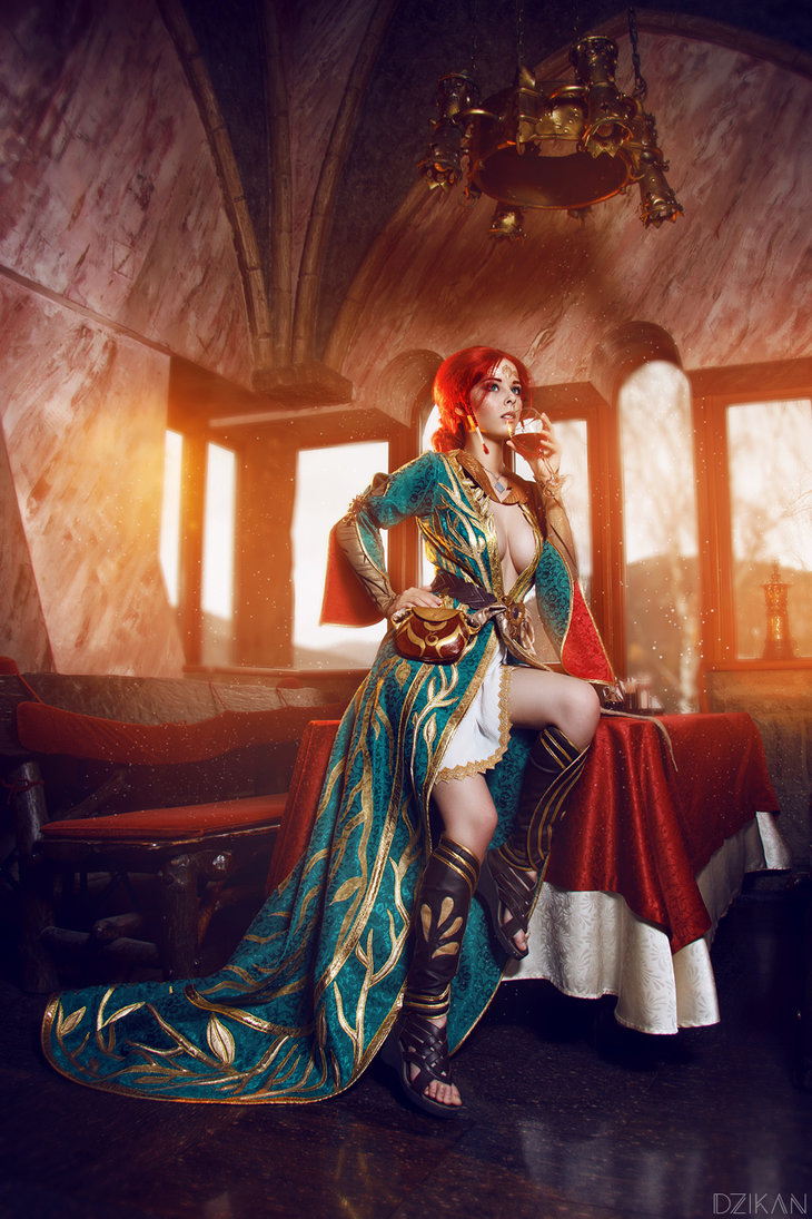 the_witcher_3___triss_merigold_cosplay_by_disharmonica-danx59m Cosplay - Triss Merigold - The Witcher 3 #134