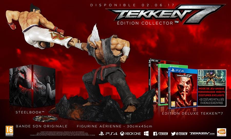 Tekken7-collector-4 Les sorties du mois de juin 2017
