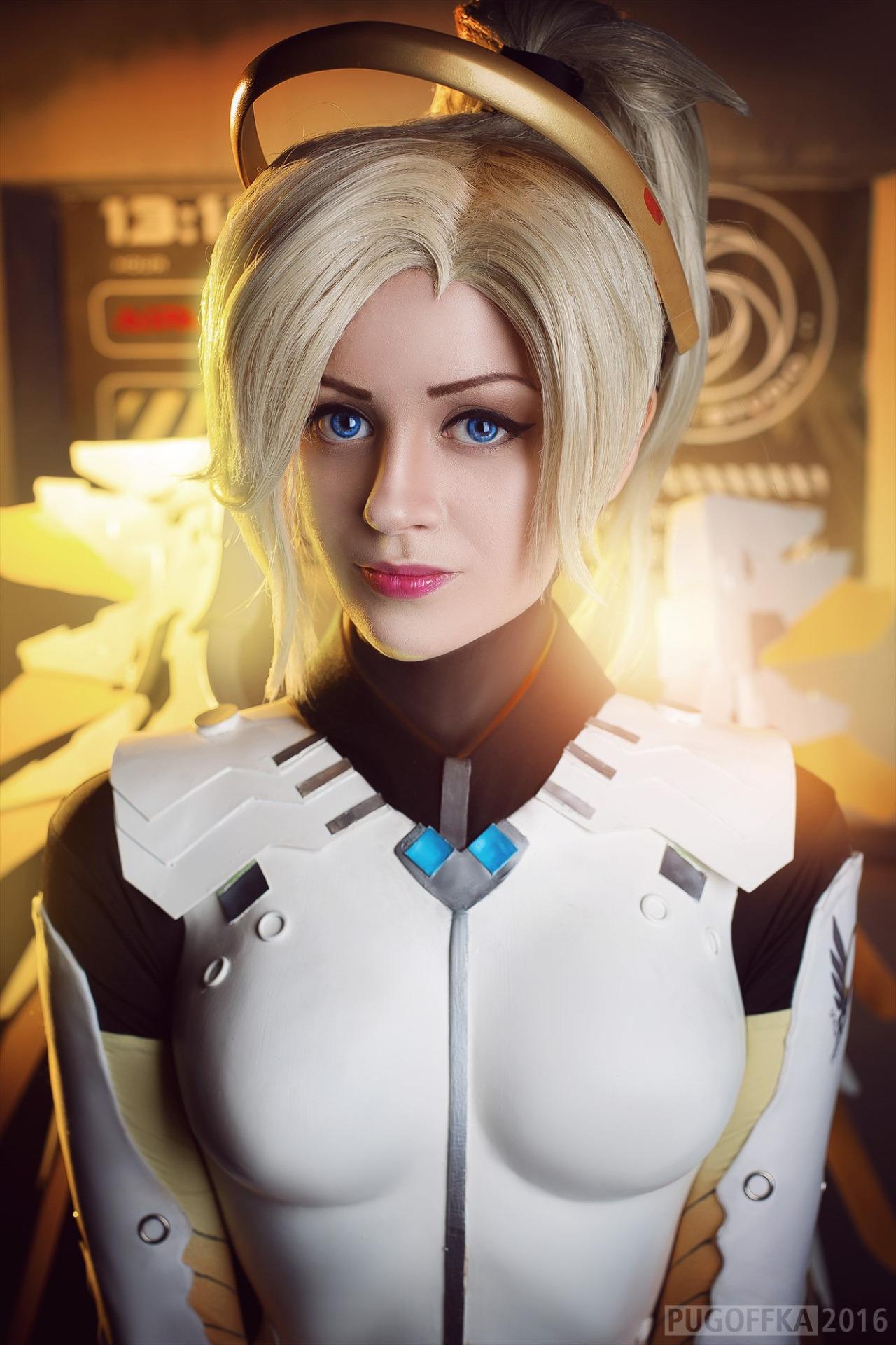 tumblr_okaww0bWpt1r5udeko1_1280 Cosplay - Overwatch - Mercy #142