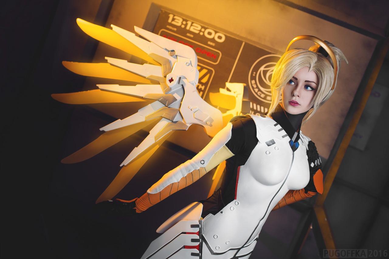 tumblr_okaww0bWpt1r5udeko3_1280 Cosplay - Overwatch - Mercy #142