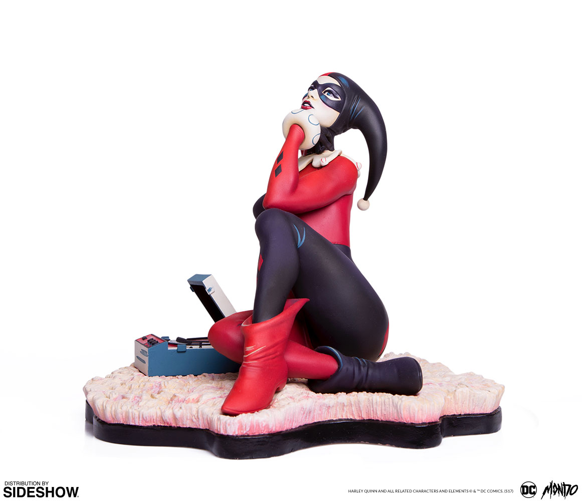 dc-comics-waiting-for-my-j-man-harley-quinn-statue-mondo-902952-20 Figurine - Harley Quinn - Waiting for My J Man