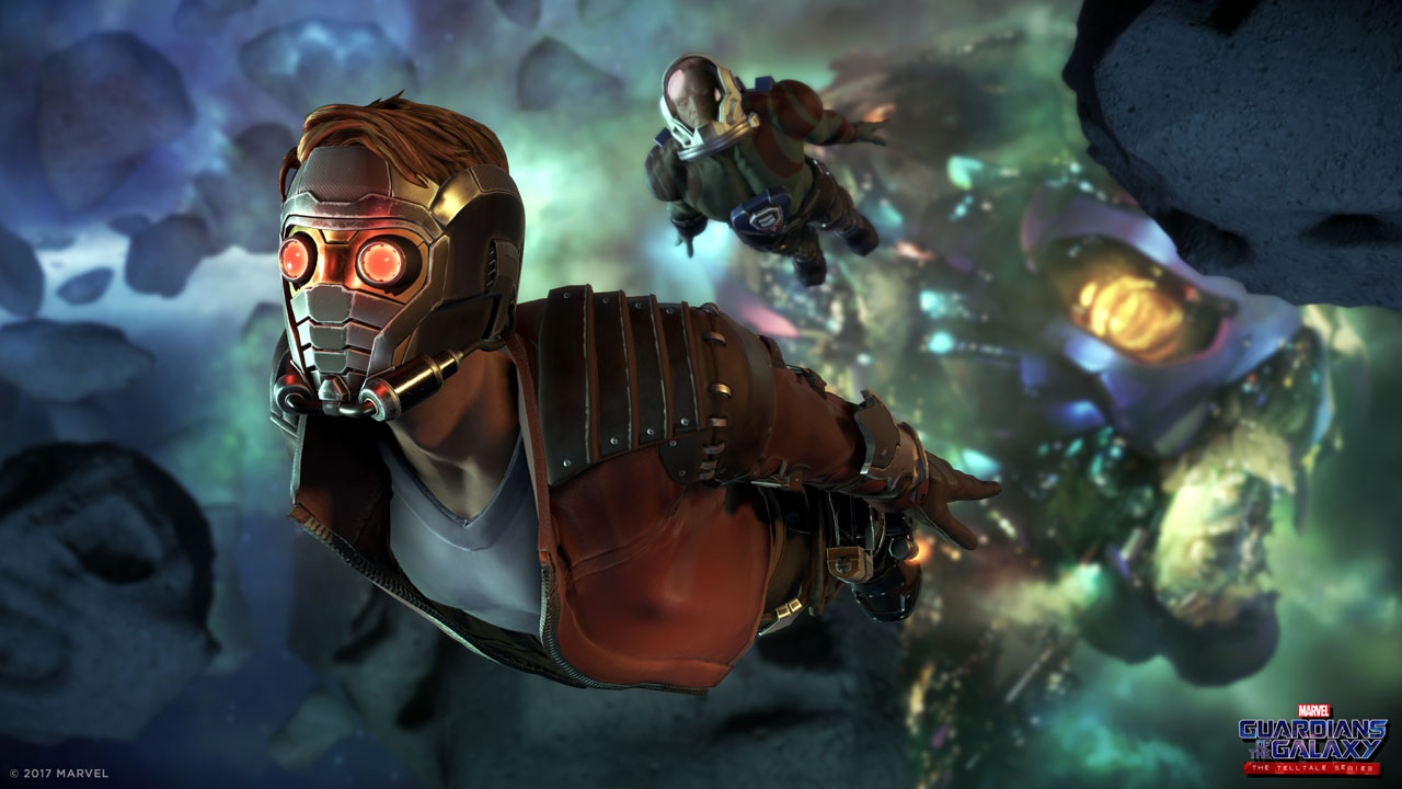 gotg_asteroid_belt_1920x1080 Test - Guardians of the Galaxy : The Telltale Series – Ep 1 : Au fond du Gouffre - PS4